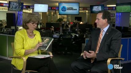 News video: Santorum on Cantor's defeat and Hillary Clinton's age